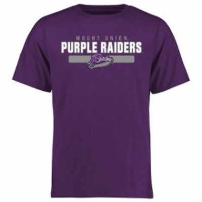 Fanatics Branded ファナティクス ブランド スポーツ用品  Mount Union Purple Raiders Purple Team Strong T-Shirt