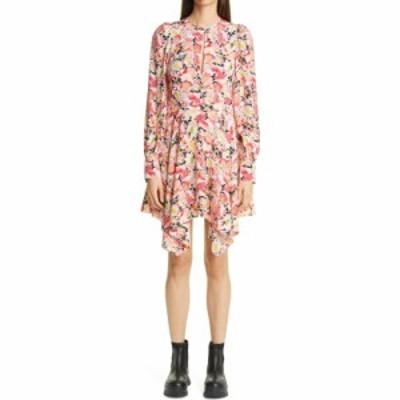 ステラ マッカートニー STELLA MCCARTNEY レディース ワンピース Felicity Floral Print Long Sleeve Handkerchief Hem Dress Multicolor