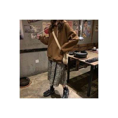 【送料無料】秋 レディース 長袖 ルース 帽子付き オーバーサイズ カシミアのセーター レトロな | 364331_A63764-6525740