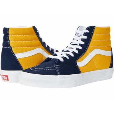 (取寄)バンズVans SK8-Hi (Classic Sport) Dress Blues/Saffron