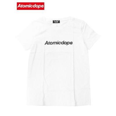 AtomicdopeレディースTシャツ 白 Logo Tee White アトミックドープ / サイズM