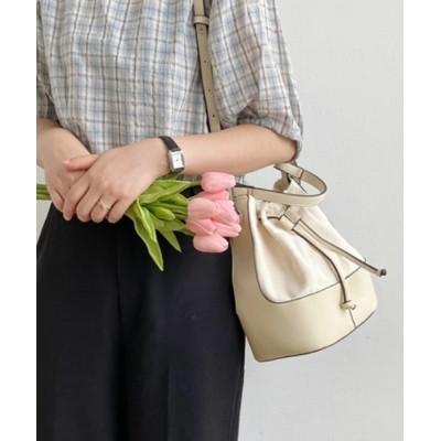 KOR / 巾着ハンド&ショルダーバッグ WOMEN バッグ > ショルダーバッグ
