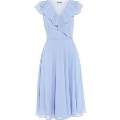 フェイズ エイト Phase Eight レディース ワンピース ラップドレス ワンピース・ドレス Allegra Wrap Dress Powder Blue