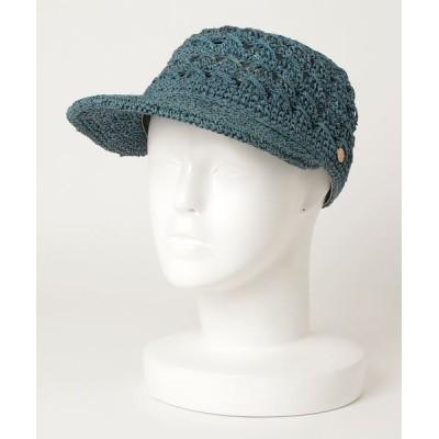 BEAMS WOMEN / NOL × Ray BEAMS / 別注 スカシ キャップ WOMEN 帽子 > キャップ