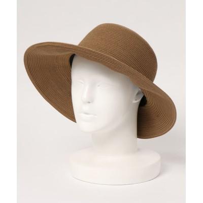 U.Q / 洗えるスリットハット WOMEN 帽子 > ハット