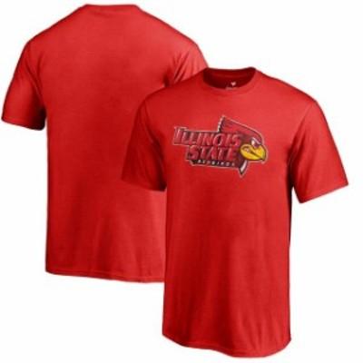 Fanatics Branded ファナティクス ブランド スポーツ用品  Fanatics Branded Illinois State Redbirds Youth Red Classic Primary T-Shir