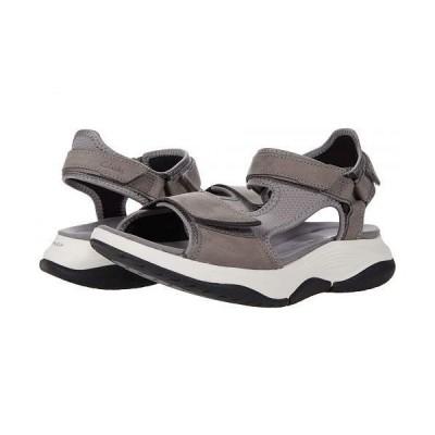 Clarks クラークス レディース 女性用 シューズ 靴 サンダル Wave2.0 Skip. - Grey Combi