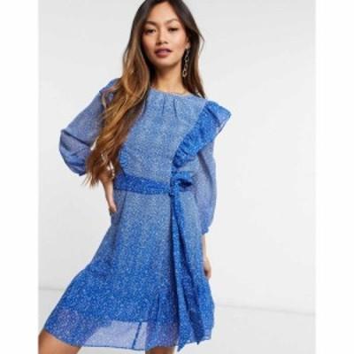 ホイッスルズ Whistles レディース ワンピース ワンピース・ドレス Floral Gradient Dress in Blue ブルー/マルチ
