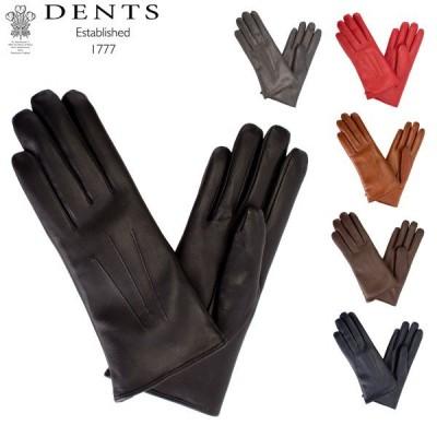 デンツ Dents 手袋 レディース Ripley レザー グローブ 上質 革 羊革 ヘアシープ Gloves (F) 17-1061