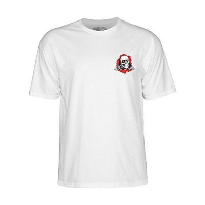 POWELL PERALTA パウエル SUPPORT YOUR LOCAL RIPPER SKATE SHOP リッパー Tシャツ 白 XL