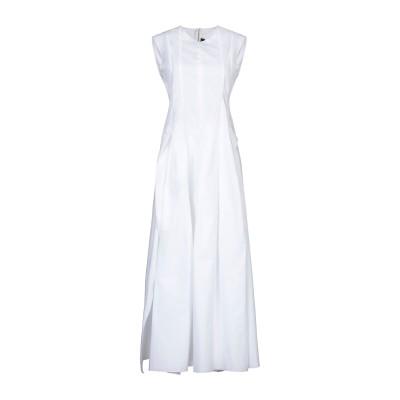テル エ バンティーヌ TER ET BANTINE ロングワンピース&ドレス ホワイト 40 コットン 100% ロングワンピース&ドレス