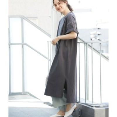 ビス(ViS)/【WEB限定】5分袖チュニックワンピース