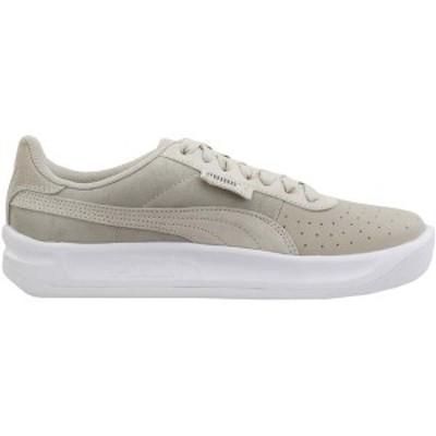 プーマ レディース スニーカー シューズ California Shimmer Lace Up Sneakers Silver Gray / Puma Silver