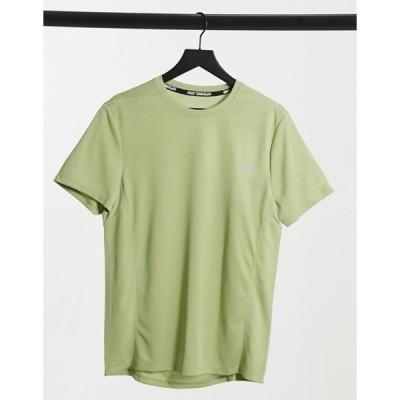 エイソス メンズ シャツ トップス ASOS 4505 icon training t-shirt with quick dry in sage