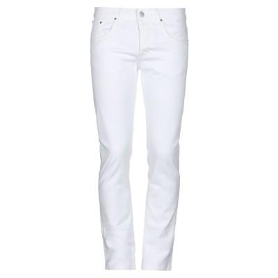 タケシ クロサワ TAKESHY KUROSAWA パンツ ホワイト 38 コットン 97% / ポリウレタン 3% パンツ
