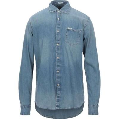 ゲス GUESS メンズ シャツ デニム トップス Denim Shirt Blue
