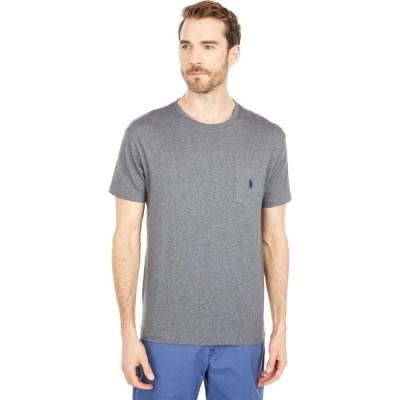 ラルフ ローレン Polo Ralph Lauren メンズ Tシャツ ポケット トップス Classic Fit Pocket Tee Fortress Grey Heather