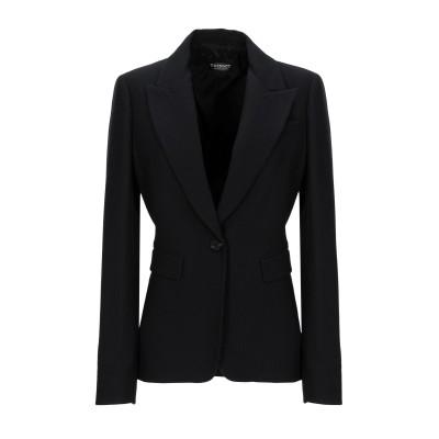 ツインセット シモーナ バルビエリ TWINSET テーラードジャケット ブラック 48 ポリエステル 53% / ウール 43% / ポリウレタン
