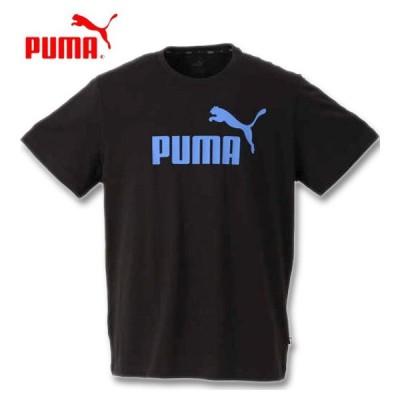 大きいサイズ メンズ PUMA エッセンシャルロゴ半袖Tシャツ 2XL 3XL 4XL 5XL 6XL