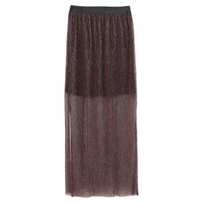 GESTUZ ロングスカート ブラック M ポリエステル 100% ロングスカート