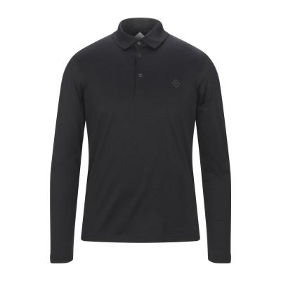パル ジレリ PAL ZILERI ポロシャツ ブラック XL コットン 100% ポロシャツ