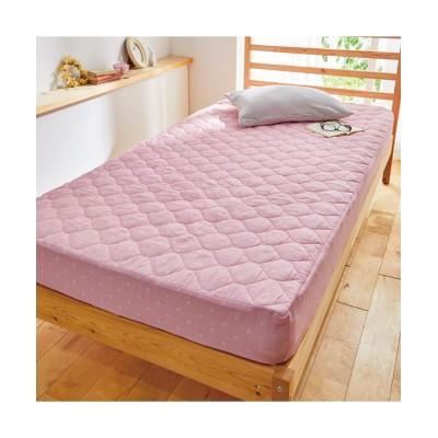 綿100%先染め2重ガーゼ敷布団にも使えるボックスシーツ型敷きパッド 敷きパッド・敷パッド, ベッドパッド, Bed pats(ニッセン、nissen)