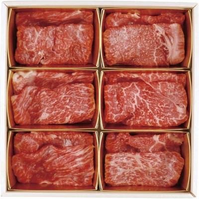 6大ブランド和牛食べ比べ すき焼き・しゃぶしゃぶ用 7001287(2021 お中元 シーズン限定)【直送品】[送料無料]