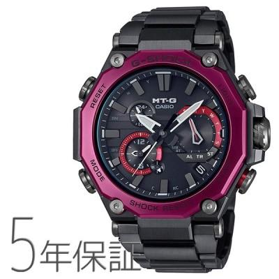 G-SHOCK Gショック MTG-B2000BD-1A4JF CASIO カシオ MT-G スマホ連携 電波ソーラー 山形カシオ ピンク 腕時計 メンズ