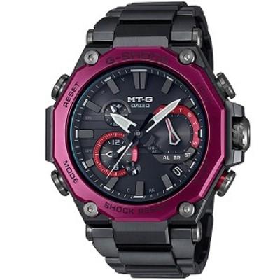 【国内正規品】CASIO カシオ 腕時計 MTG-B2000BD-1A4JF メンズ G-SHOCK ジーショック DUAL CORE GUARD MT-G Bluetooth搭載 タフソーラー