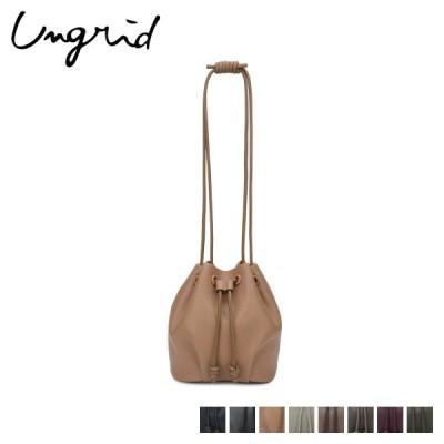 アングリッド Ungrid バッグ ショルダーバッグ レディース 巾着 SHOULDER BAG 51590