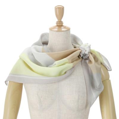 ルナジュメール 抗菌加工オーガニックコットンシュシュ付きスカーフ
