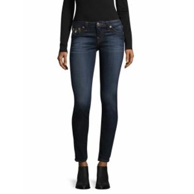 トゥルー リリジョン レディース パンツ デニム Super Skinny Flap Cotton Jeans