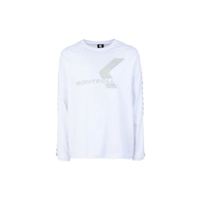 KAPPA KONTROLL T シャツ ホワイト S コットン 100% T シャツ