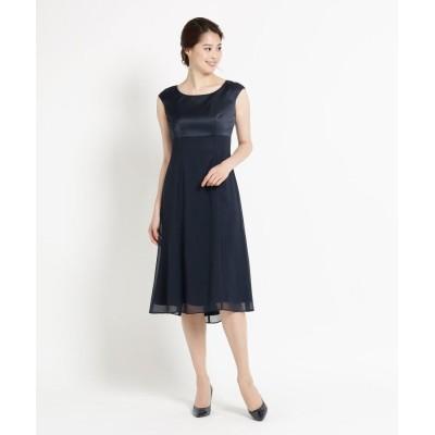 WORLD FORMAL SELECTION(ワールド フォーマル セレクション) COCCOLUSSI フレンチスリーブドッキングドレス