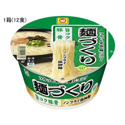 東洋水産/麺づくり 旨コク豚骨 87g×12食