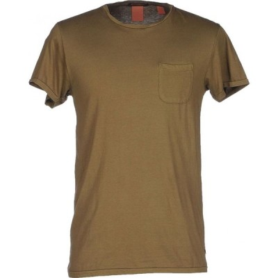 スコッチ&ソーダ SCOTCH & SODA メンズ Tシャツ トップス t-shirt Military green