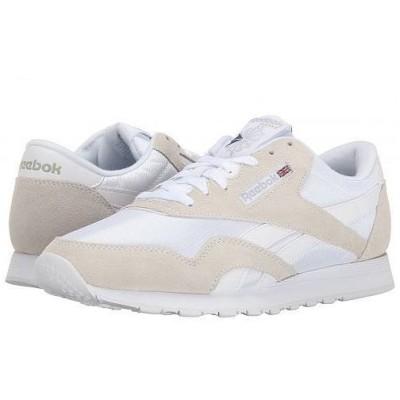 Reebok Lifestyle リーボック メンズ 男性用 シューズ 靴 スニーカー 運動靴 Classic Nylon - White/Light Grey