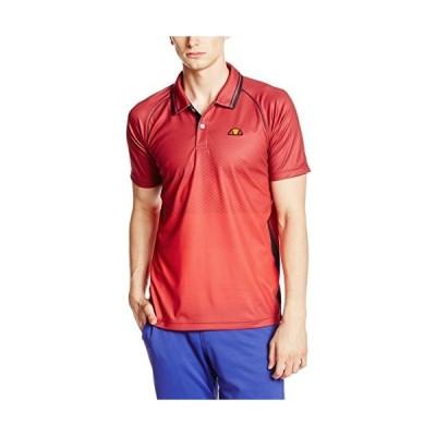 エレッセ テニス シャツ ETS05000 レッド XSサイズ