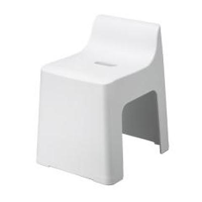 風呂イス RETTO レット― ハイチェアー 座面約31cm ホワイト( 風呂椅子 風呂いす シャワーチェア お風呂 椅子 イス 滑り止め 日本製 バス用品 通気性 収納 コの字型 )