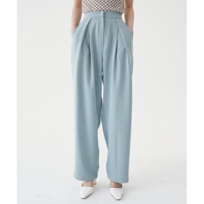 Casper John / FEKETE COLOR SLACKS TUCK PANTS WOMEN パンツ > スラックス