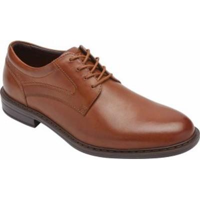ロックポート メンズ スニーカー シューズ Tanner Plain Toe Oxford Cognac Full Grain Leather