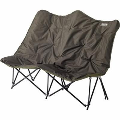 コールマン(Coleman) ソファチェアダブル SOFA CHAIR DOUBLE 2000037432 【FRI 2人用チェア 椅子 クッション キャリーケース付き バー