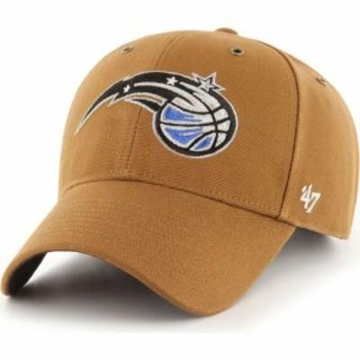 フォーティセブン 47 メンズ キャップ 帽子 Orlando Magic Brown Carhart MVP Adjustable Hat