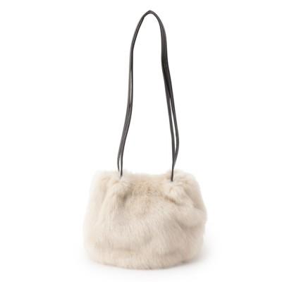 SHOO・LA・RUE / フェイクファー巾着ショルダー WOMEN バッグ > ショルダーバッグ