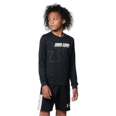 UNDER ARMOUR アンダーアーマー UA Y TECH LS TEE 1 1368975 001 バスケットボール ジュニア 長袖Tシャツ ボーイズ 1