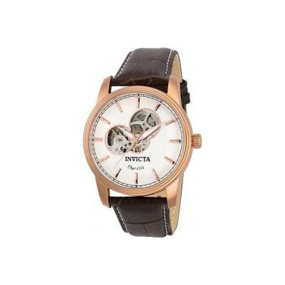 インヴィクタ 腕時計 Invicta メンズ 22618 Objet D Art シルバー ダイヤル スポーツ ステンレス スチール 腕時計