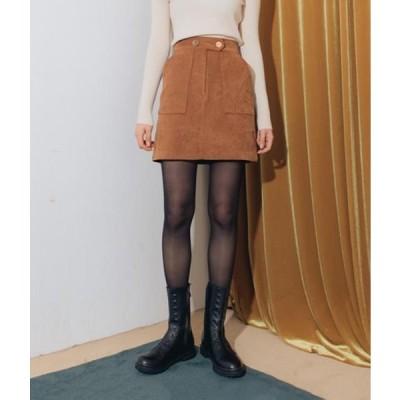 MIXXMIX レディース スカート Faux Suede Mini Skirt