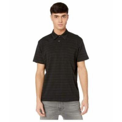 ビラボン メンズ シャツ トップス Standard Issue Polo Black