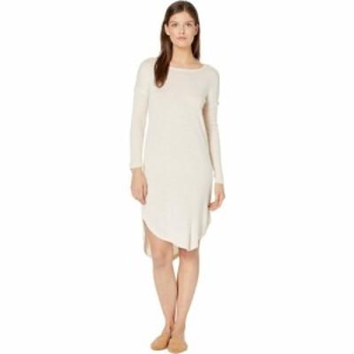 ボボウ Bobeau レディース ワンピース ワンピース・ドレス Long Sleeve Cozy Dress Oatmeal