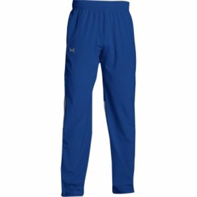 アンダーアーマー Under Armour メンズ フィットネス・トレーニング ボトムス・パンツ Team Squad Woven Warm Up Pants Royal/Steel